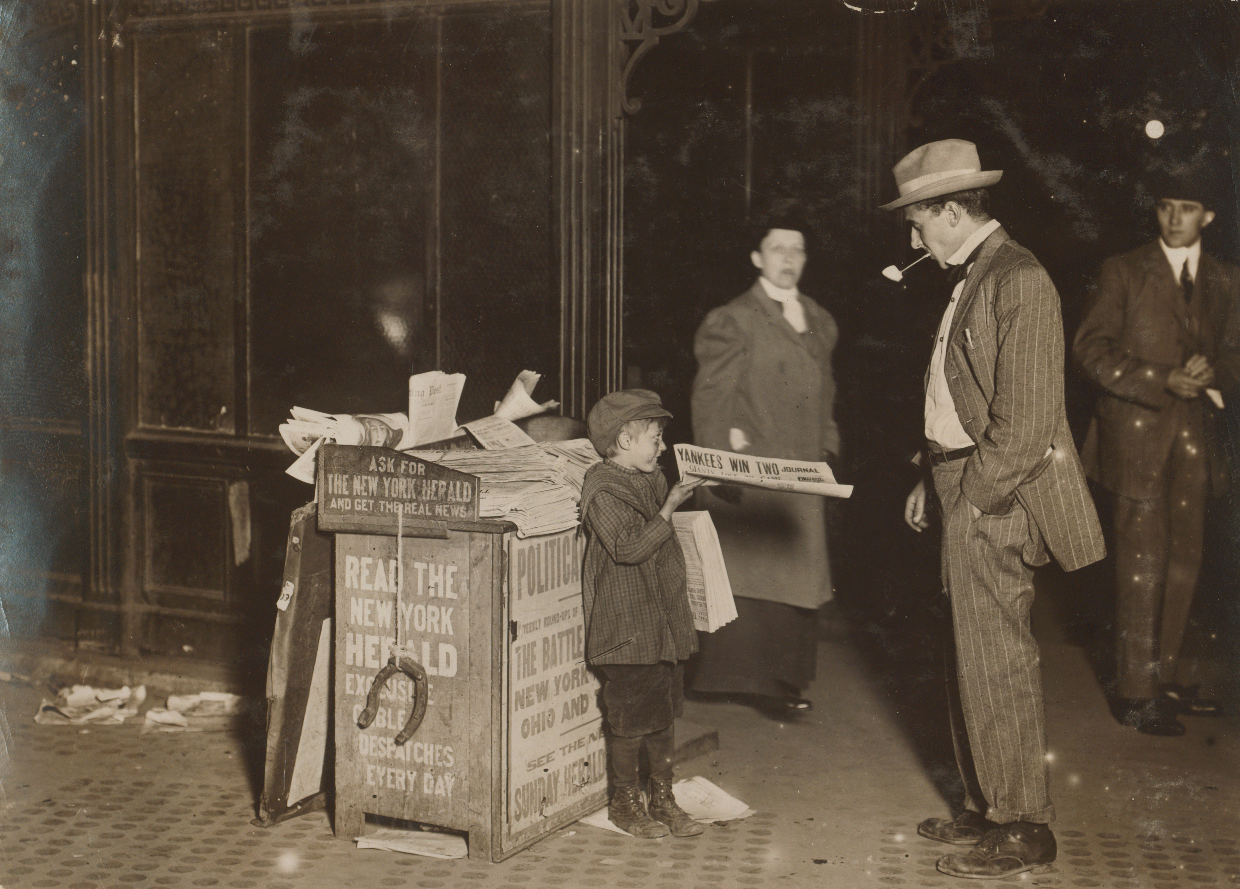 Child Labor and Poverty In New York - 1910