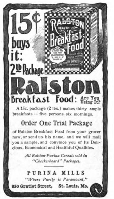 Nine Turn-of-the-Century Advertisements
