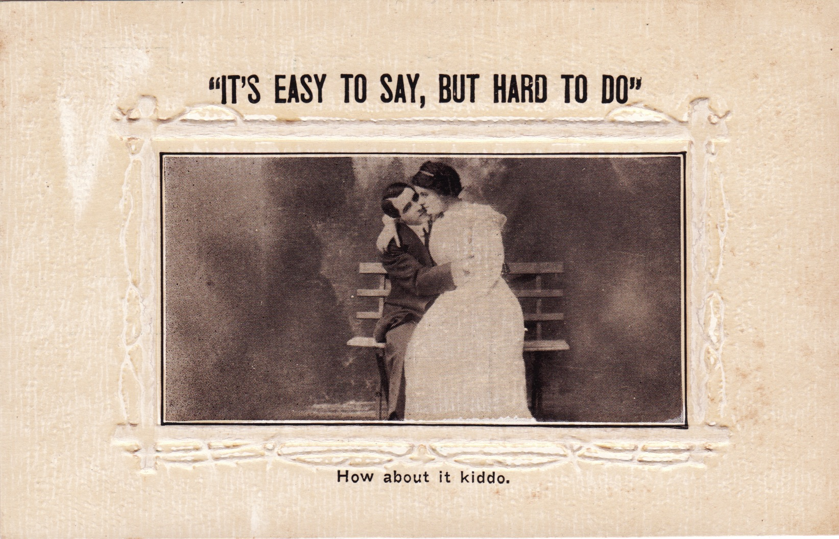 Sex Before Marriage? Early 20th Century Postcards That Are Risque