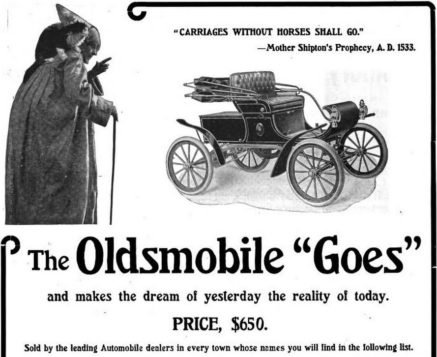 Car Advertisements From 1903