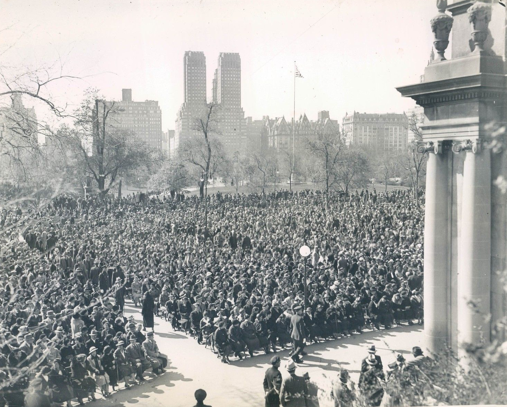 May Day, New York City In The Past And Today