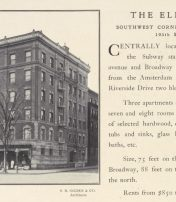 New York City Apartment Building Names In 1904