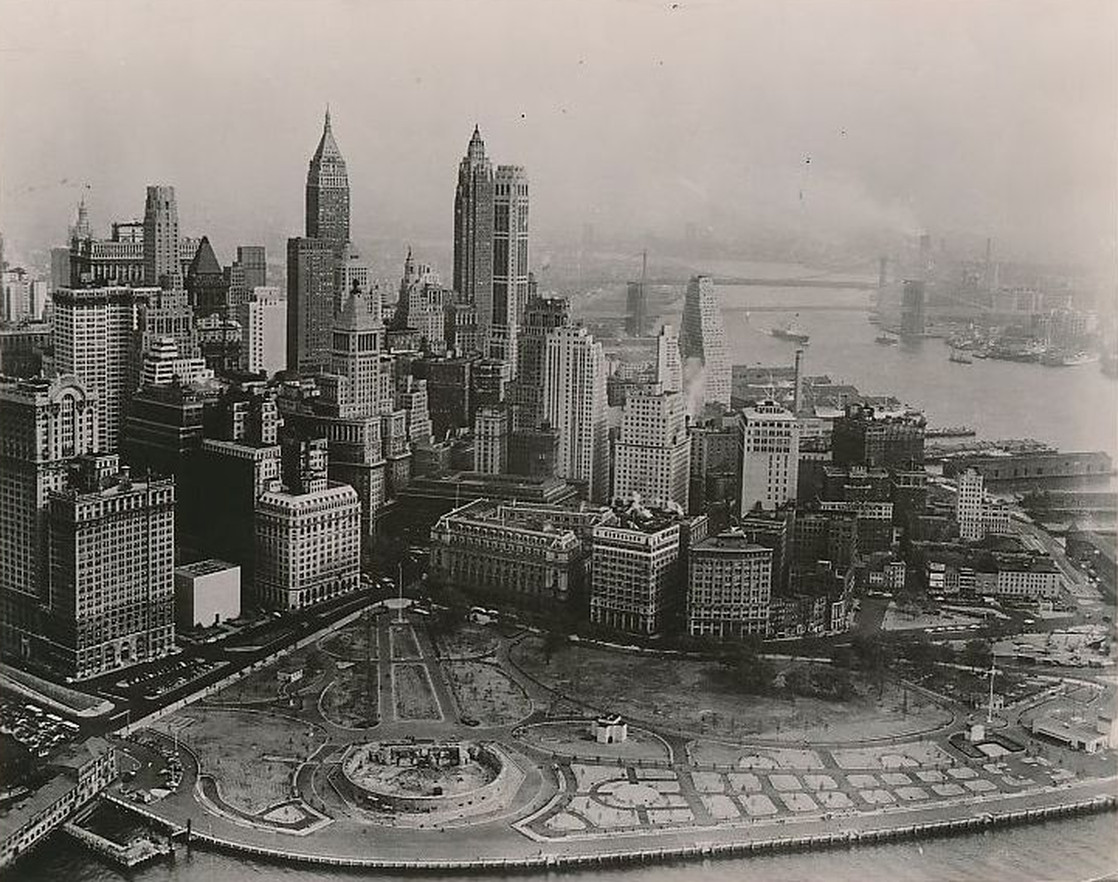 Old New York In Photos #86 - The End Of The Classic Lower Manhattan Skyline c. 1956