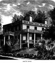 Alexander Hamilton, The Grange & A Dubious Story Of 13 Trees