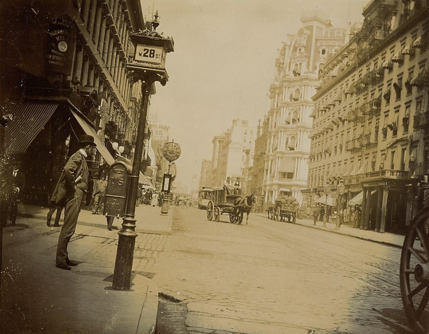 Old New York In Photos #90 - Broadway & 28th Street 1896