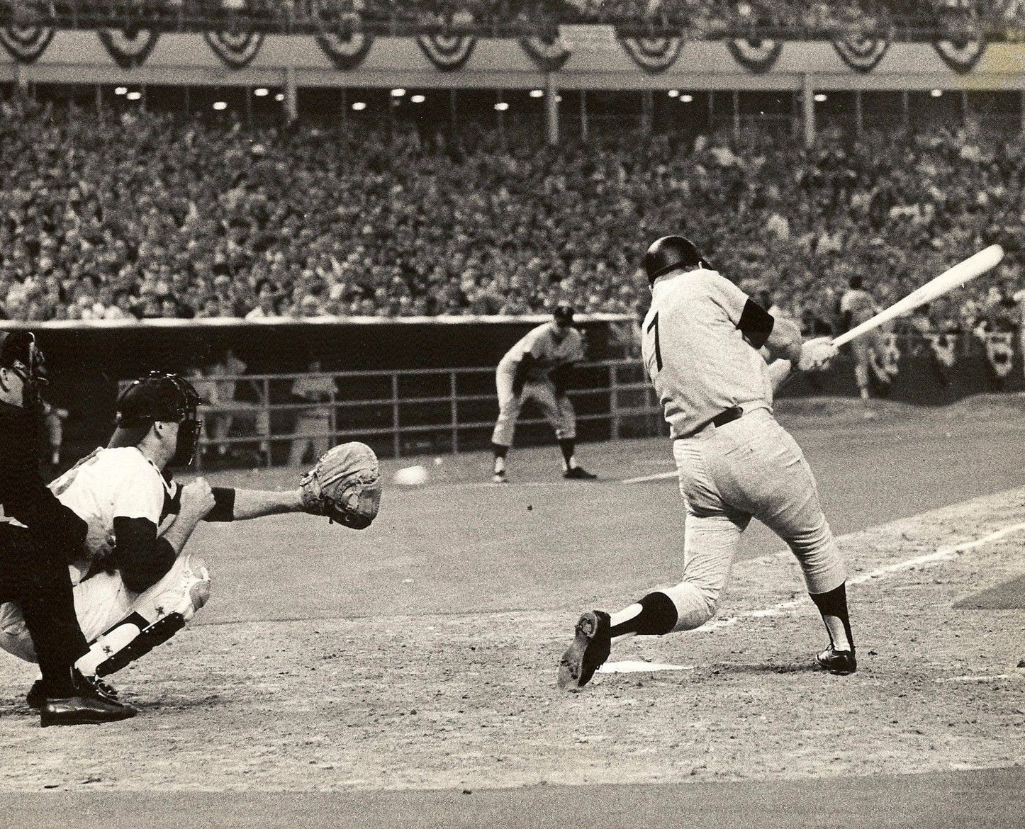 Mickey Mantle's Final All Star Game - July 9, 1968