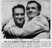 Lou Gehrig's Farewell Speech July 4, 1939