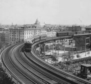 Old New York In Photos #123 - 110th St. Elevated Curve